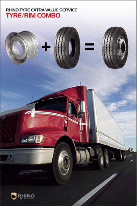 Mount Wheel on Tyre
